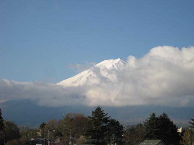 4月29日富士山