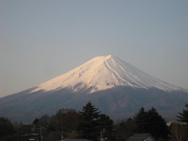4月30日富士山