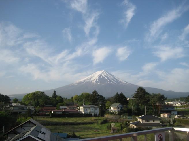 5月14日富士山