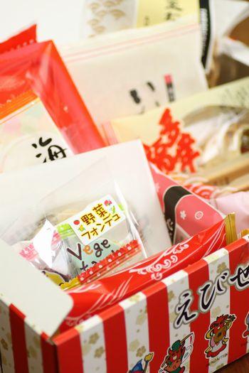 えびせん宝箱2012年七福海老~招き猫付き