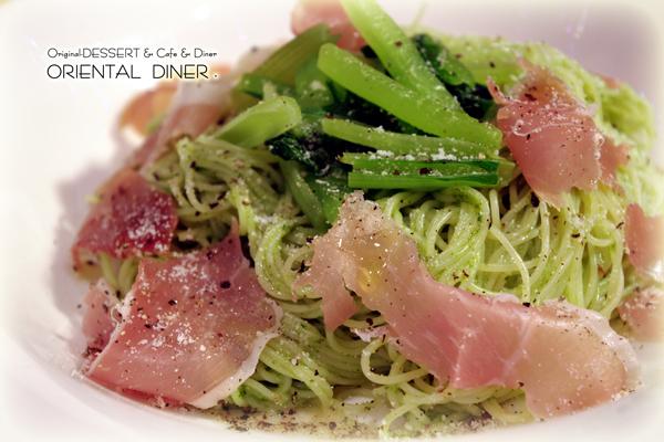 小松菜カッペリーニ