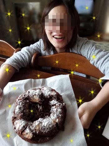 私のケーキでつよ