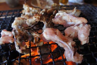 松葉肉。松の葉みたいな形です。