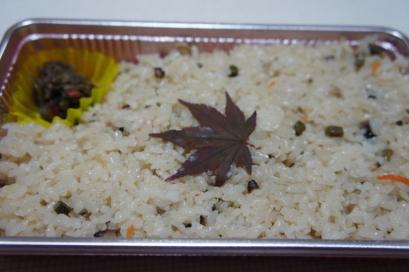 阿瀬の山菜ごはん