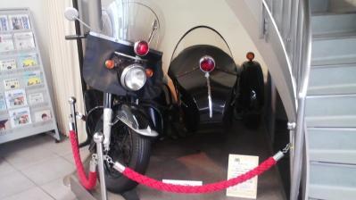 警察博物館(黒バイ)