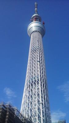 東武橋からの東京スカイツリー