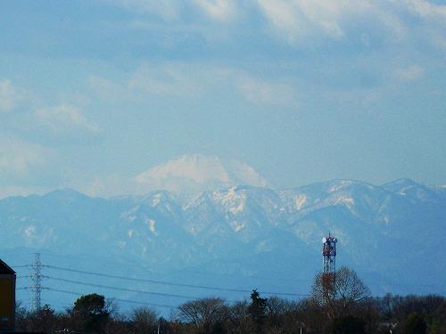 富士山が見えました~