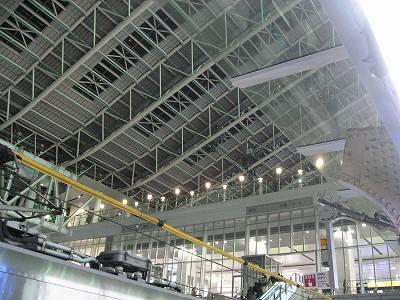 JR大阪駅の大屋根