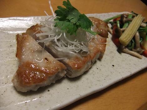 豚ソテー五香粉1