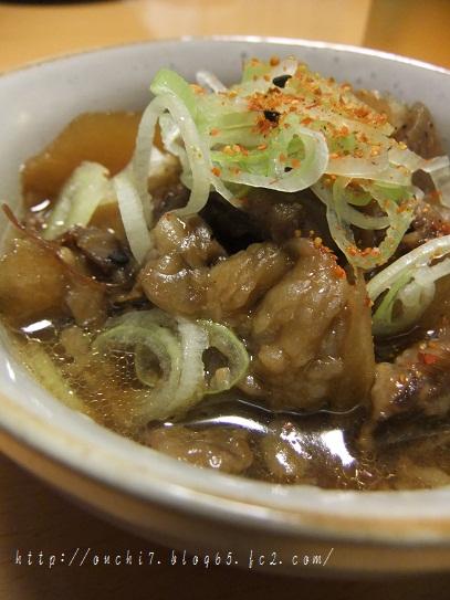 牛筋味噌煮1