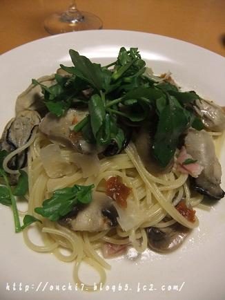 牡蠣パスタ1