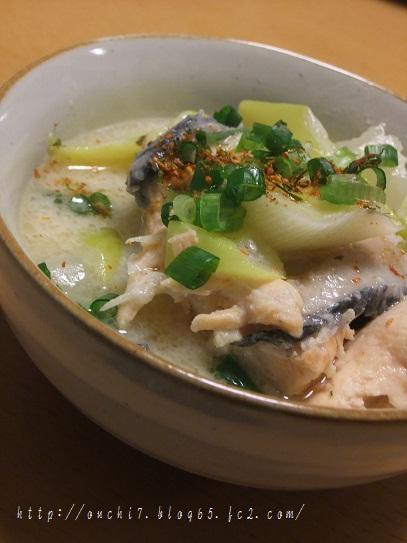 鮭のアラの粕煮