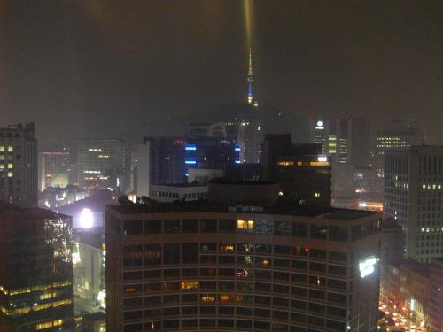 プレジデントホテルからの眺め