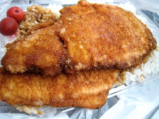 ソースカツ丼(ヨーロッパ軒)