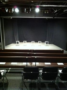 客席から舞台