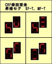 倖田來未☆昇格セグ全種類