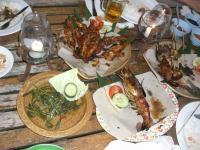 イカンバカールの料理