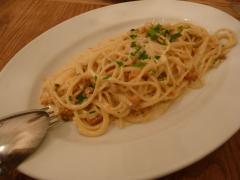 ウニクリームのスパゲッティ