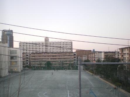 辰巳の夕空0201