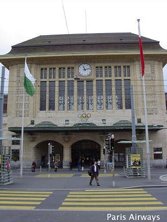 スイス・ローザンヌ駅