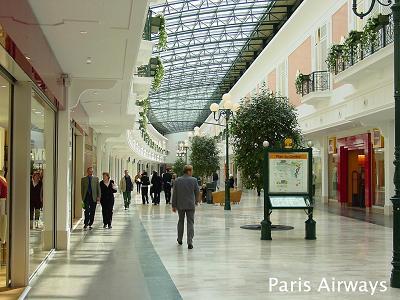 La vallee ショッピングセンター