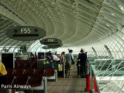 パリ・シャルル・ド・ゴール空港 Terminal 2F