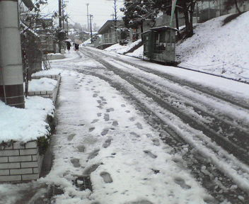 雪景色・家の前01・29