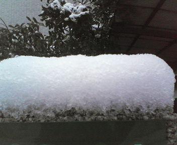 雪景色・塀の上01・29