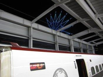 鹿児島中央駅(夜)