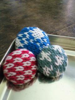 編みこみくるみボタン