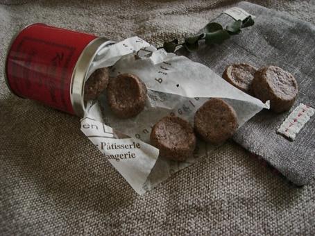 チョコクッキー試作