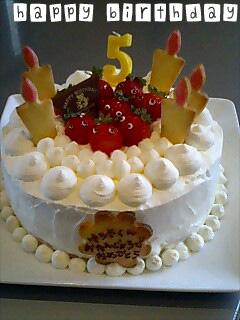 納品ケーキ20080203