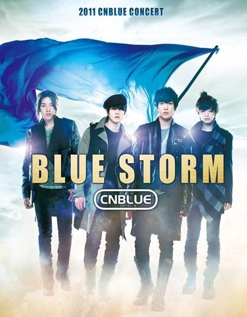 CNBLUE 2011 ASIA TOUR CONCERT 'BLUESTORM' IN SEOUL POSTER