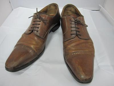 カスタム染め革靴修理 001