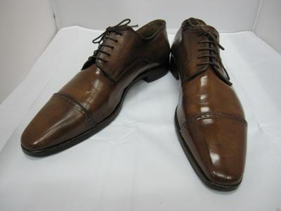 カスタム染め革靴修理後