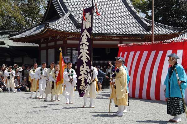 金峯山寺 花供会式8