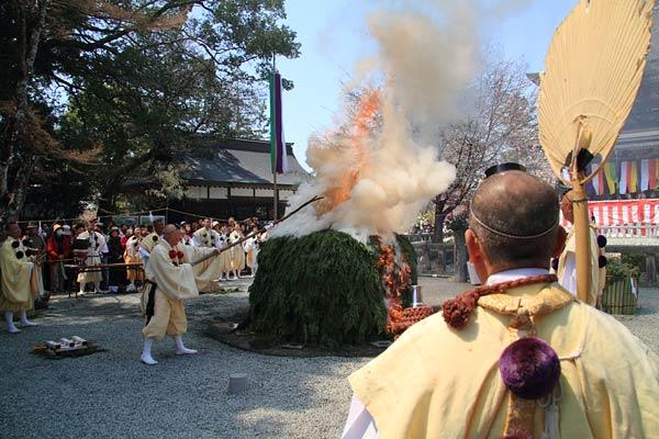 金峯山寺 花供会式5