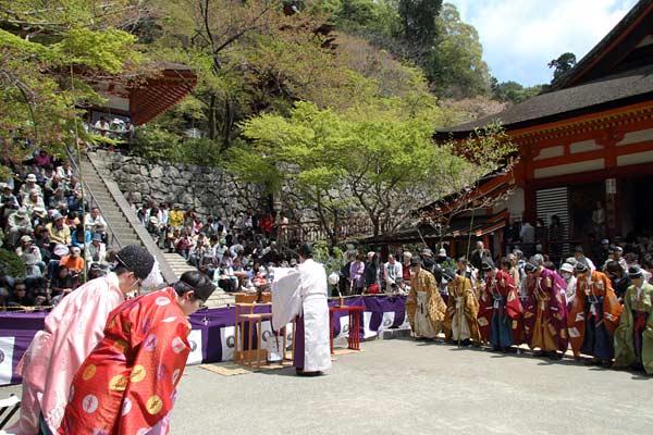 談山神社 春のけまり祭1