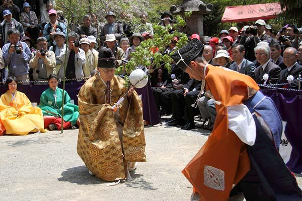 談山神社 春のけまり祭2