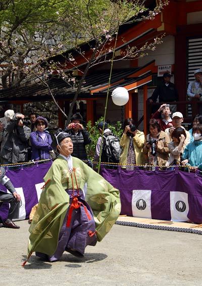 談山神社 春のけまり祭4