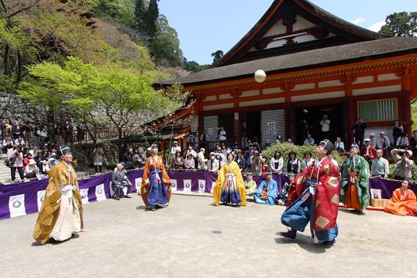 談山神社 春のけまり祭3