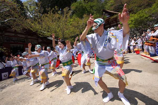 談山神社 阿波踊り1