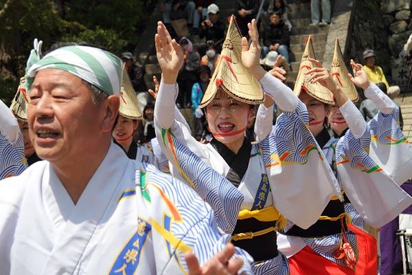 談山神社 阿波踊り2