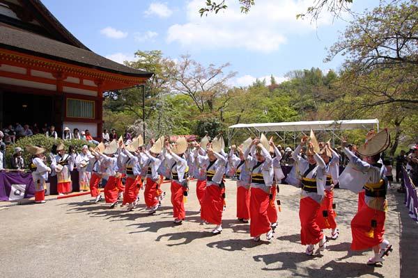 談山神社 阿波踊り3
