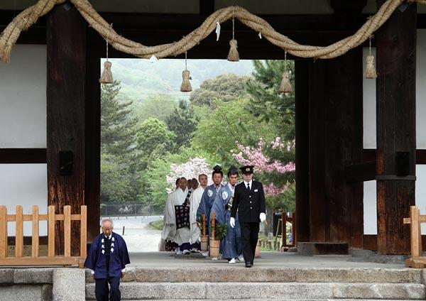 聖武天皇 山陵祭2