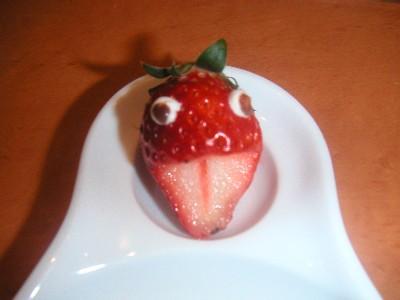 苺の・・・