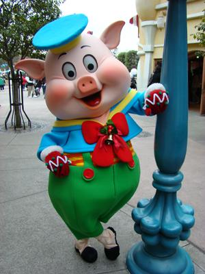 フィドラー トゥーン クリスマス 柱