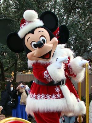 ミッキー クリスマスミニパレ