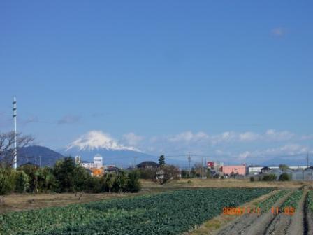 1月3日富士山 001