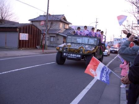 1月15日東高祝賀パレード・ねこ 017